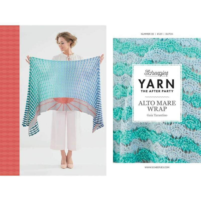 YARN THE AFTER PARTY NR.30 ALTO MARE WRAP NL