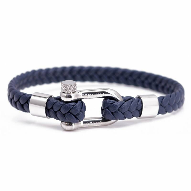 Nautical L8 Navy Leather