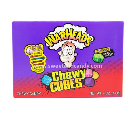 Warheads Chewy Cubes Box 113 gr