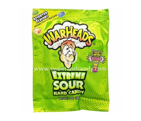 Warheads Extreme Sour Candy 28 gr