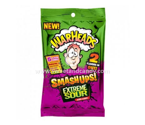 Warheads Extreme Sour Smash-Up 56 gr