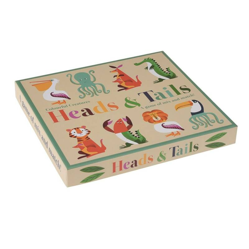 Puzzelspel Head & Tails - Rex London