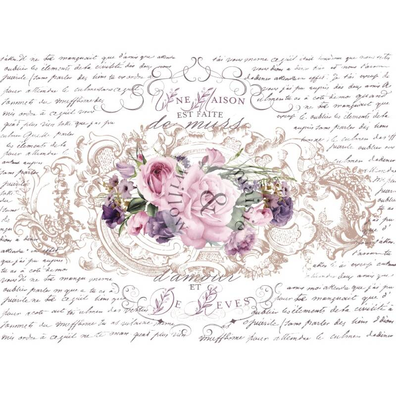 Maisie & Willows Transfers - Floral Poems