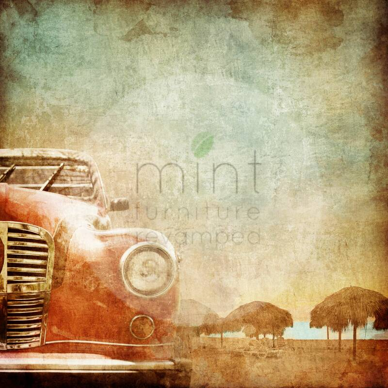 """Mint by Michelle """"Old Red Car"""""""