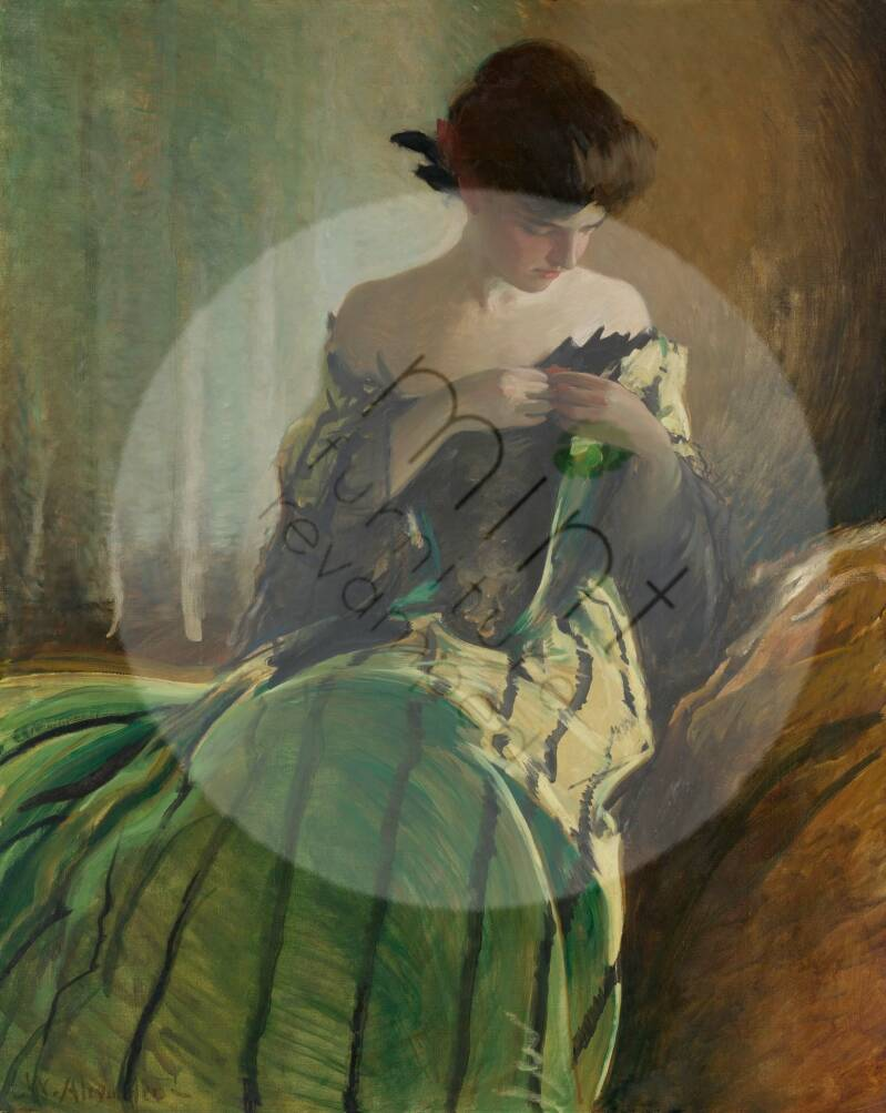 """Mint by Michelle """"Study in Black & Green"""""""