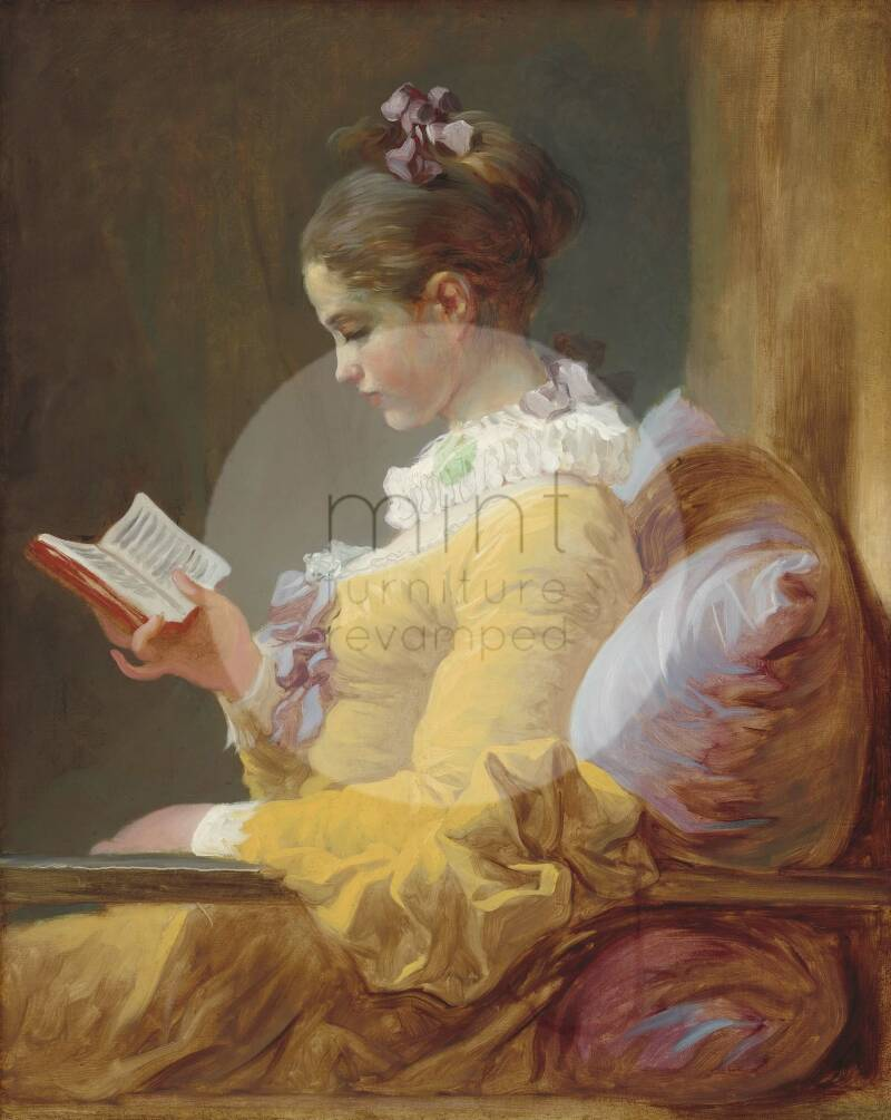 """Mint by Michelle """"Young Girl Reading"""""""