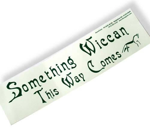 Sticker - Someting Wiccan