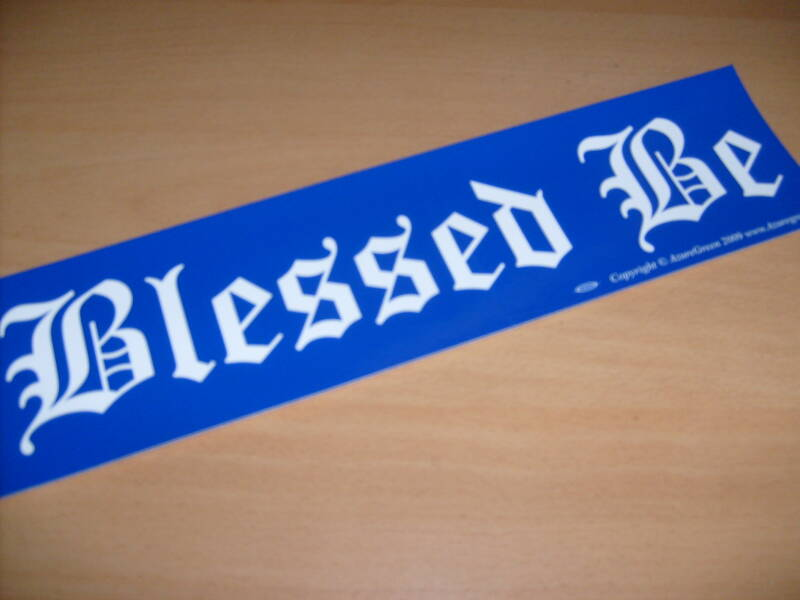 Sticker - Blessed Be