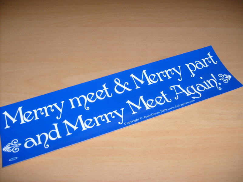 Sticker - Merry Meet