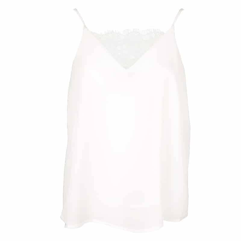 AMY LACE TOP WHITE