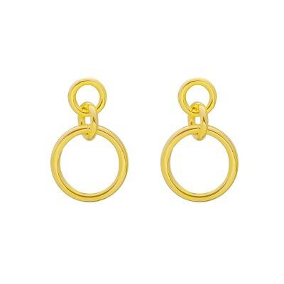 GIRL POWER EARRINGS GOLD