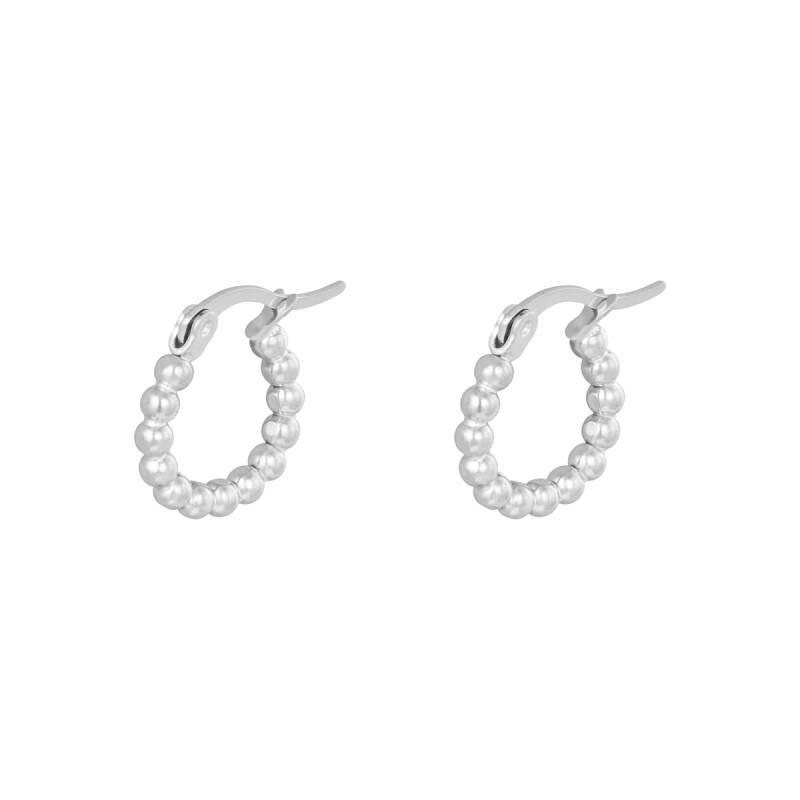 MAYA EARRINGS SILVER