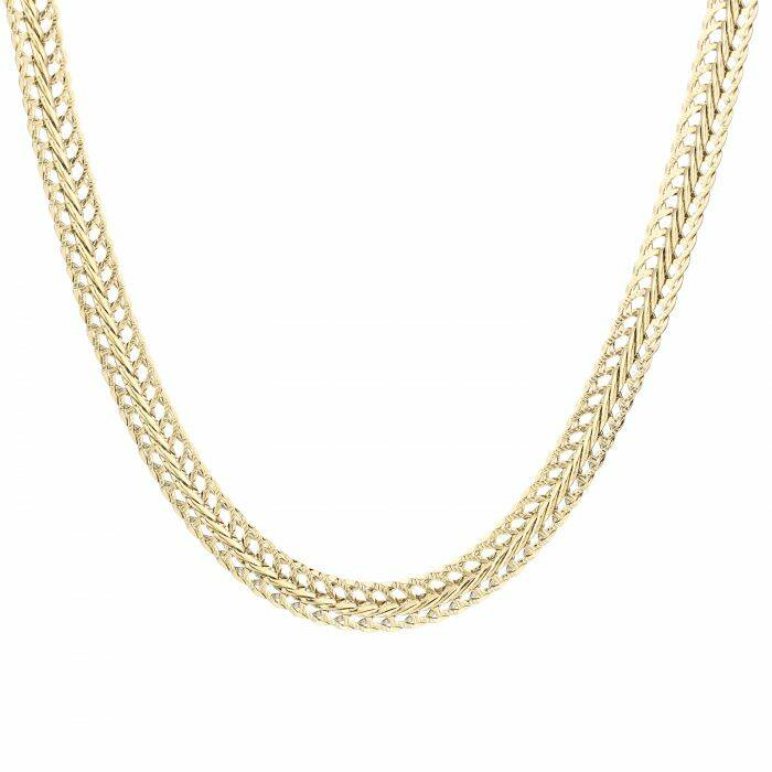 AMBER NECKLACE GOLD