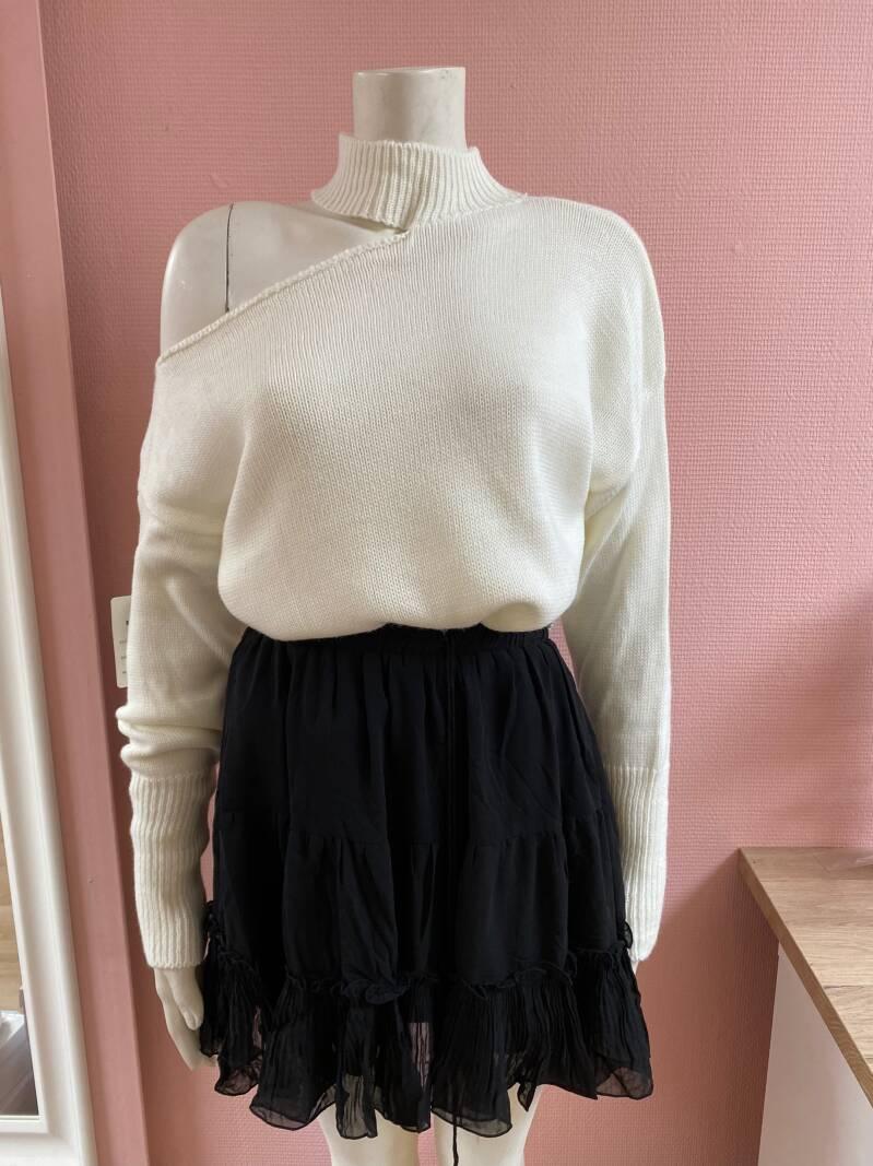 SHELLEY SWEATER WHITE