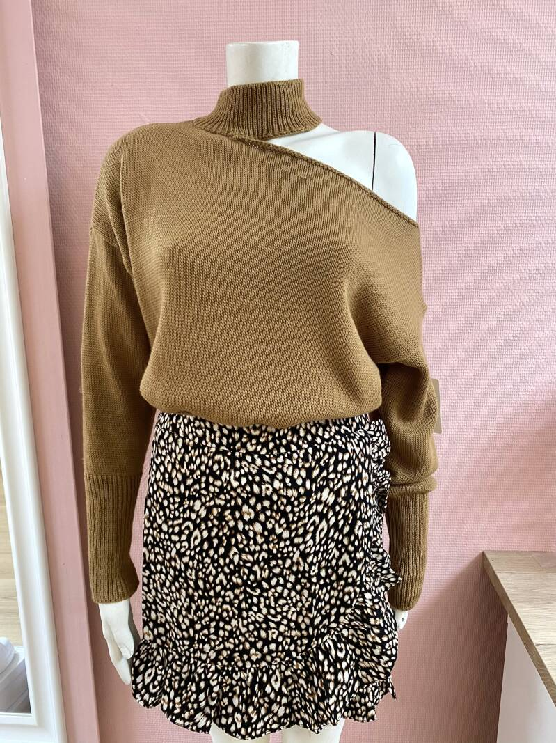 SHELLEY SWEATER CAMEL