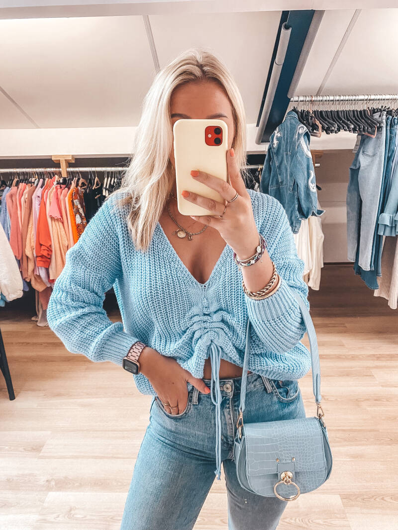 LILY SWEATER BLUE