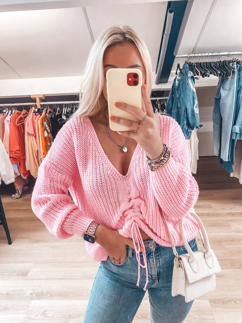 LILY SWEATER PINK