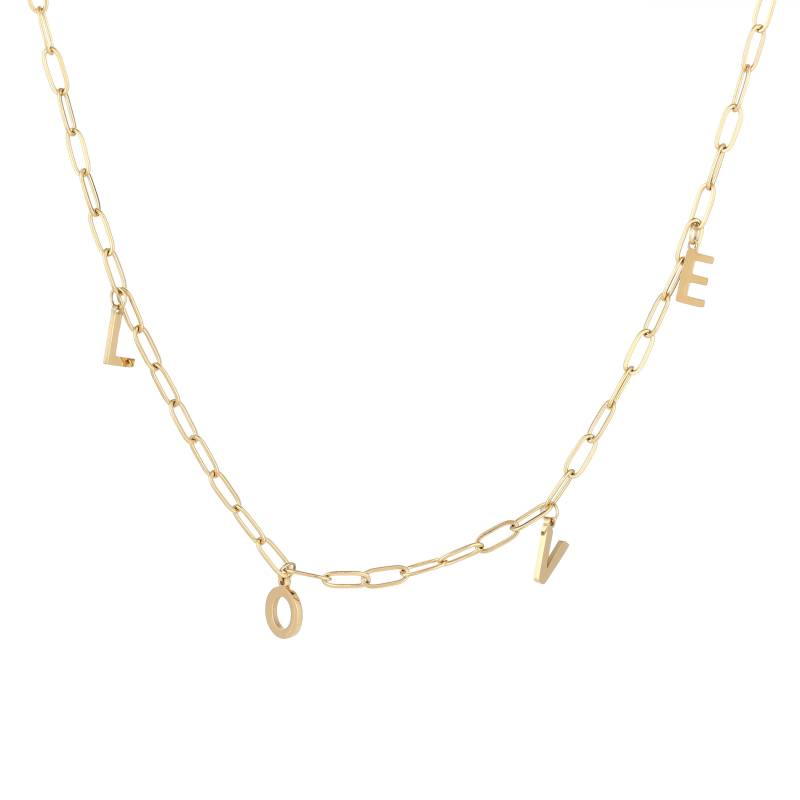 LOVE NECKLACE GOLD