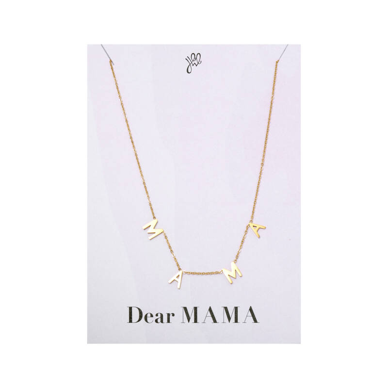 DEAR MAMA NECKLACE GOLD