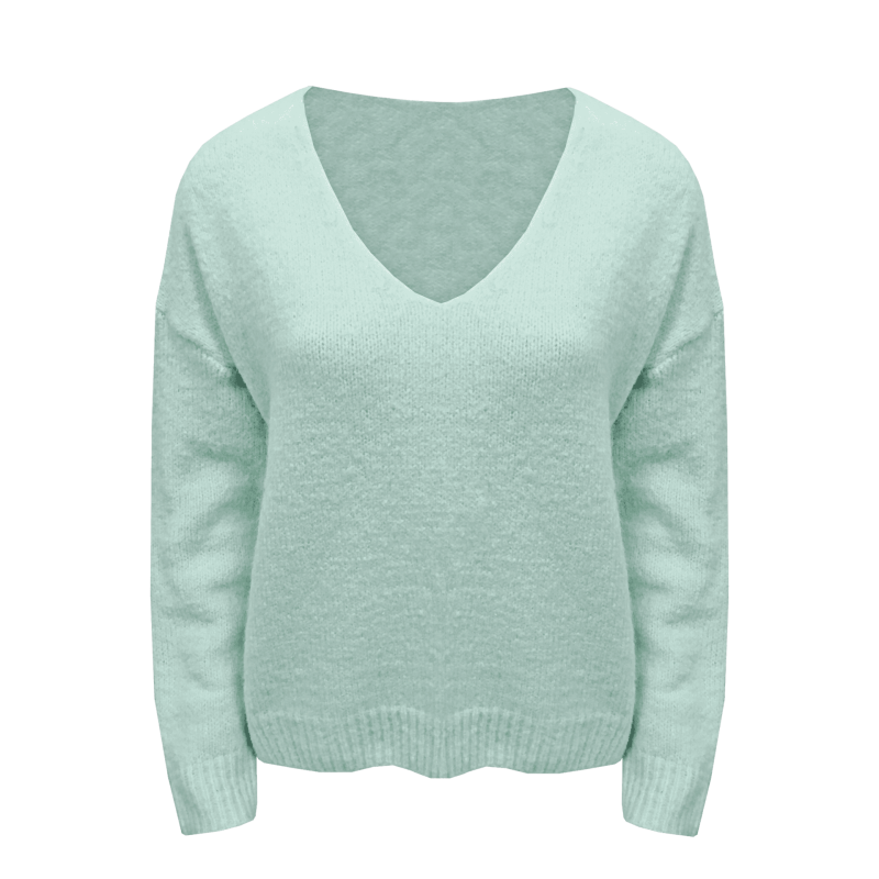 LUCY SWEATER GREEN