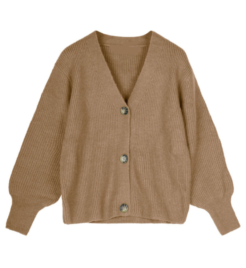 KIM CARDIGAN BROWN