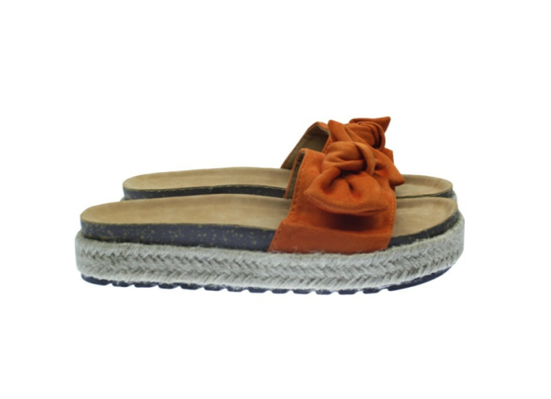 LUZIA SLIPPERS BRICK