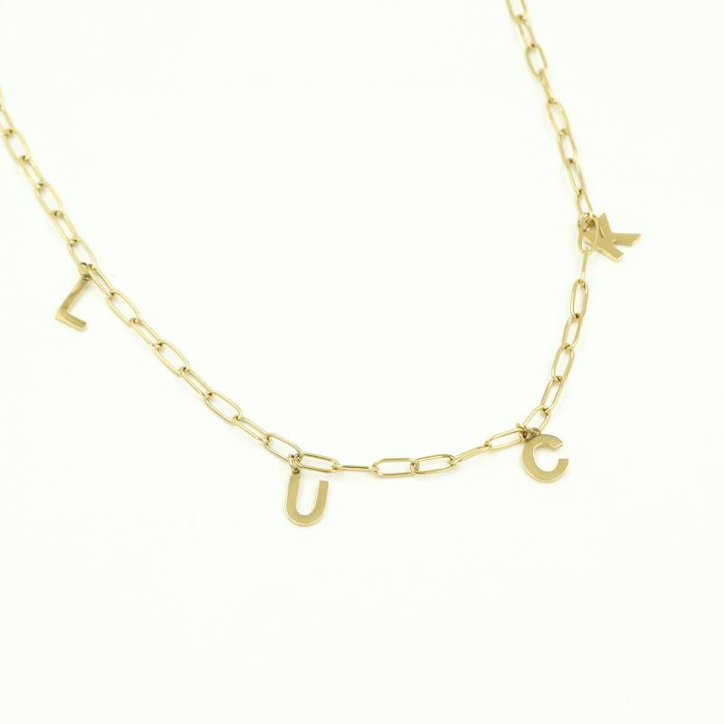 LUCK NECKLACE GOLD