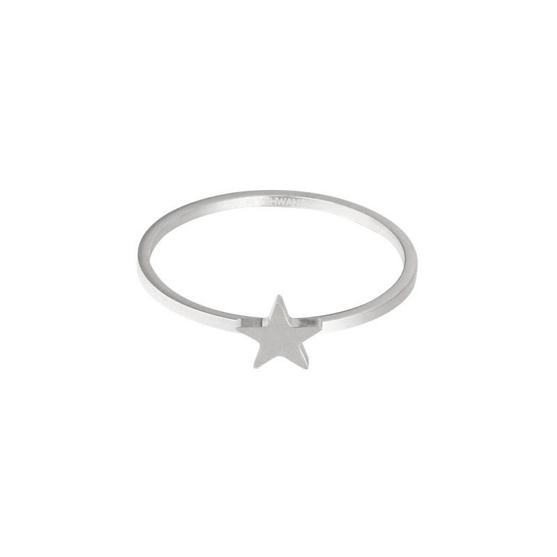 STAR RING SILVER