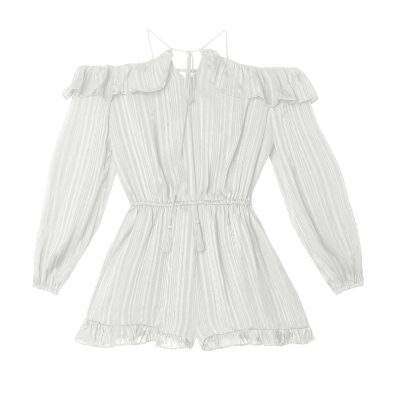 LILY PLAYSUIT WHITE