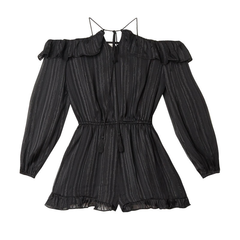 LILY PLAYSUIT BLACK