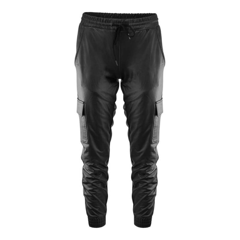 LEATHERLOOK JOGGER