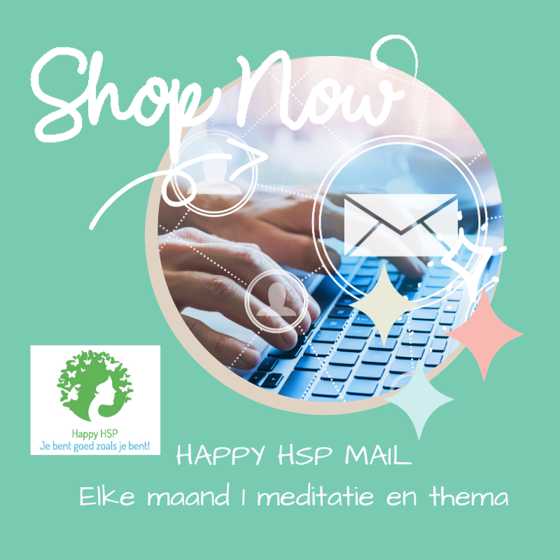 Happy HSP Mail- Jaarprogramma
