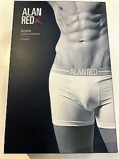 Alan Red Boxer short 2Pack