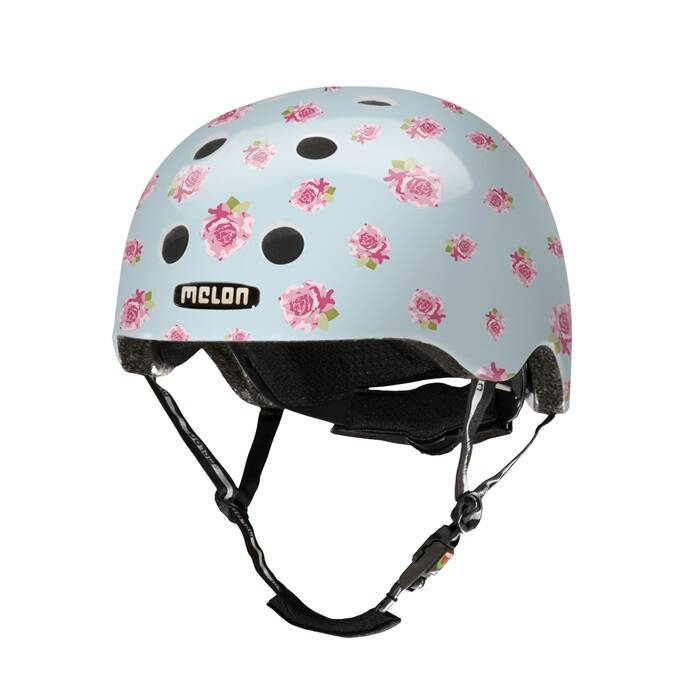 MELON HELM FLYING ROSES M-L (52CM - 58CM) 25OG