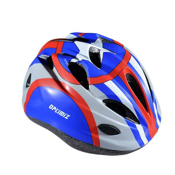 kinderhelm Optimiz100 S 52/56cm Captain blauw