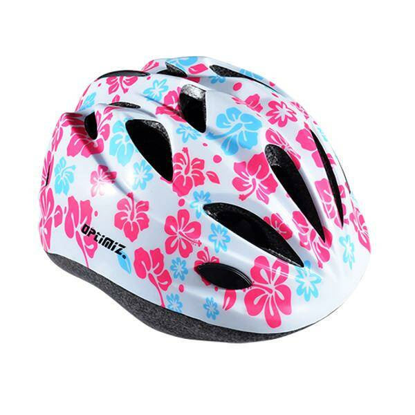 kinderhelm Optimiz100 XS 48/52cm Flower rose