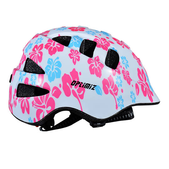 kinderhelm Optimiz200 XS 48/52cm Flower rose