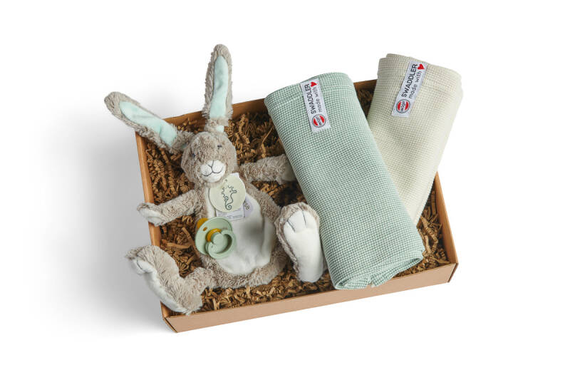 Box Rabbit Twine Sage