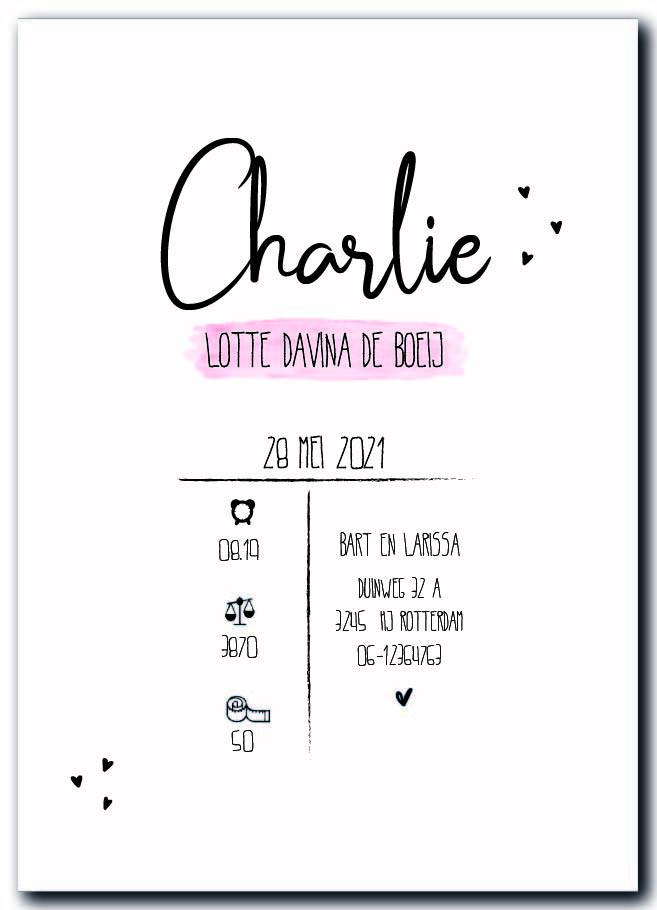 Sample :  Charlie
