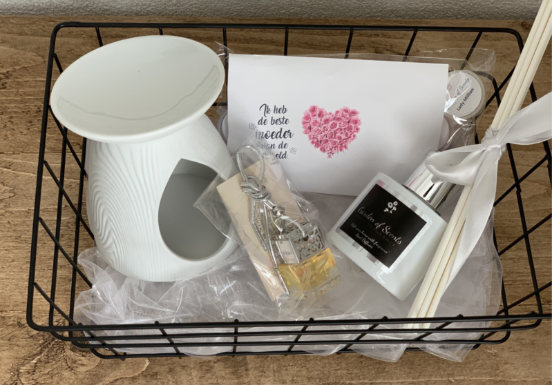 Moederdag giftbox -wit