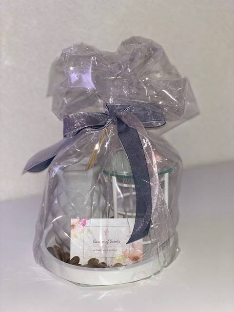 Giftset Ananas wit