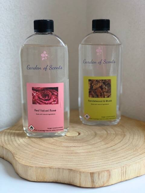 Garden of Scents Lamp Fragrance- set van 2x 500ml