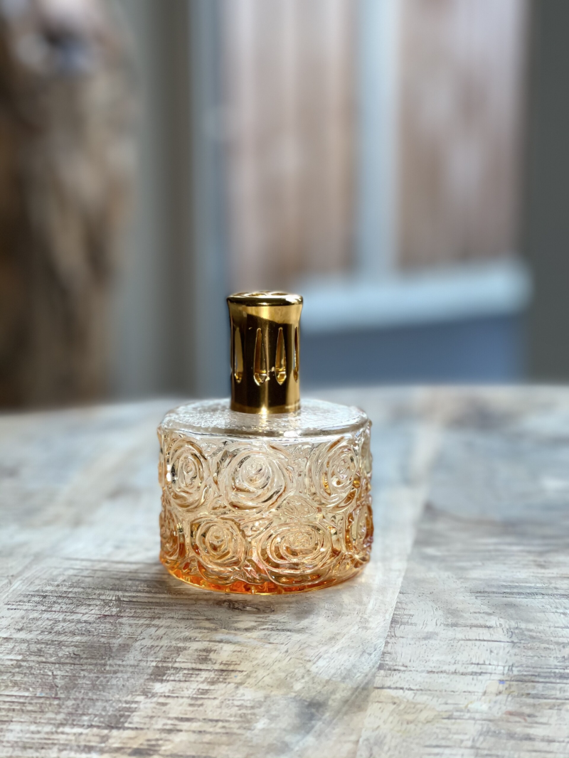 Mini Parfum Lamp- Orange Gold