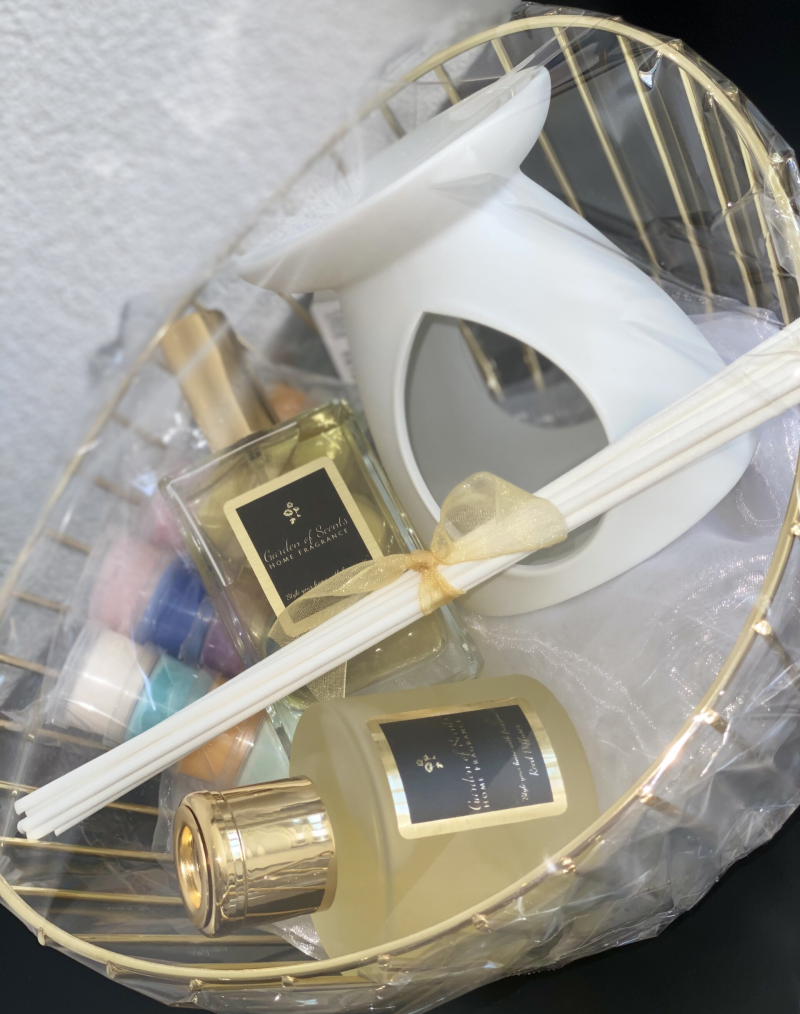 Giftset Home Fragrance Gold