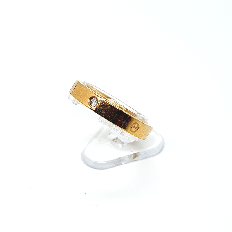 Ring rose/goud