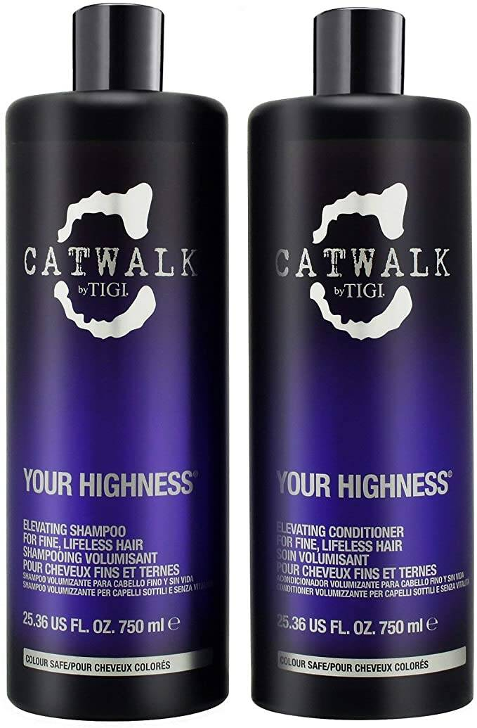 DUO PACK - Shampoo & Conditioner Tigi Catwalk Your Highness