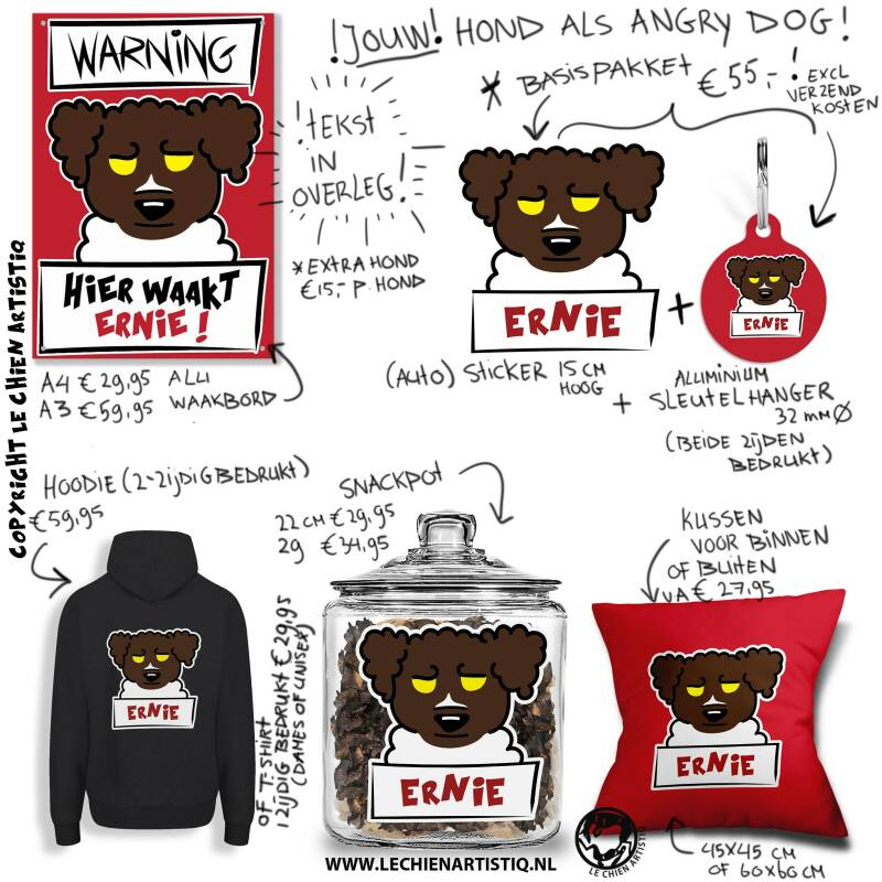 """JOUW hond als """"ANGRY DOGS """"!"""