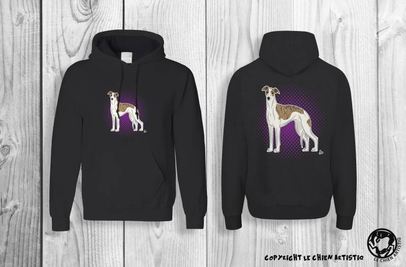 Whippet ! Comic style Hoodie