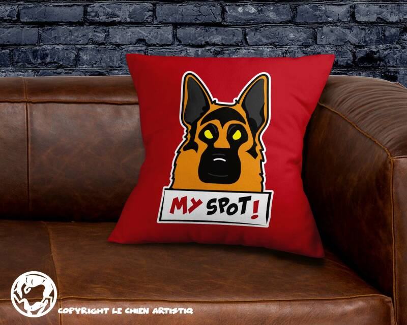 Duitse Herdershond ! Angry Dogs kussen !