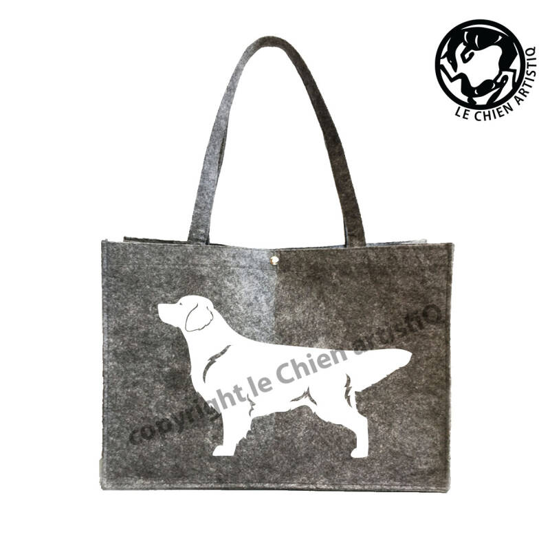 Golden Retriever ! VILTEN shopper tas !